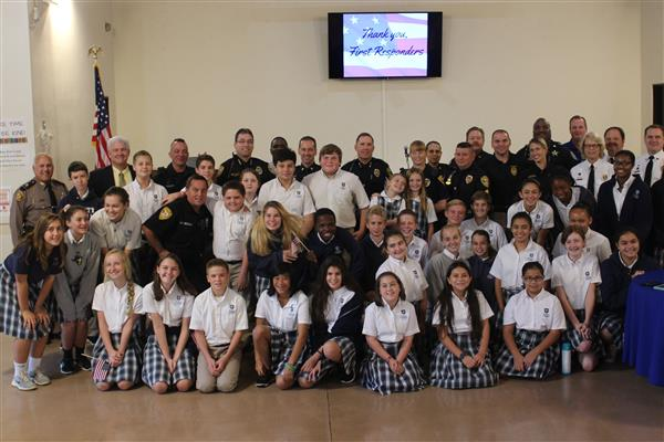 First Responders Mass & Reception