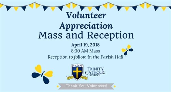 Volunteer Mass and Reception