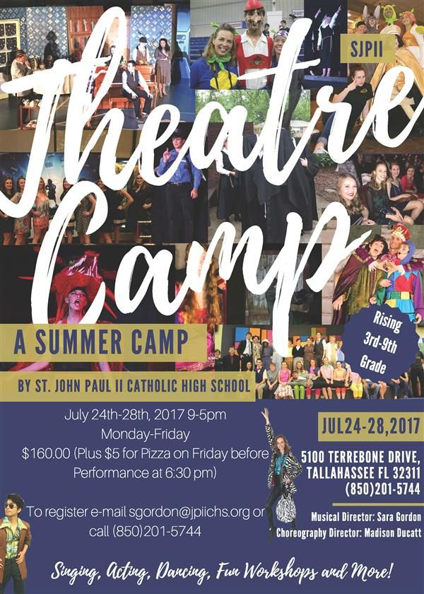 SJPII Theatre Camp